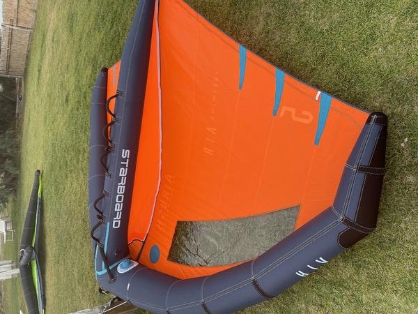 Starboard X Airush - air v2 5 mt